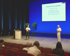 15.09.14 - David our CTO at ECIS conference in Bordeaux