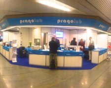 15.09.23 - Pragolab booth at Laborexpo 2015 in Prague